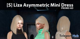 New Release: [S] Liza Asymmetric Mini Dress by [satus Inc] - Teleport Hub - teleporthub.com