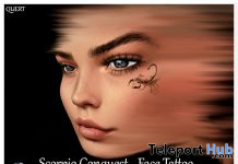 Scorpio Conquest Face Tattoo May 2020 Group Gift by QUERT0 - Teleport Hub - teleporthub.com