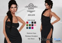 Helen Long Dress May 2020 Group Gift by Annie Silverstar Couture - Teleport Hub - teleporthub.com