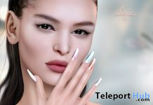 Mesh Nails Pastel Glossy May 2020 Group Gift by alme. - Teleport Hub - teleporthub.com