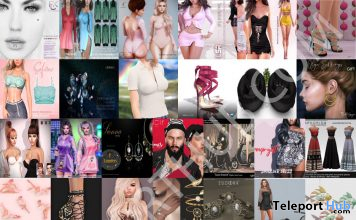 Several 8th Anniversary Group Gifts @ FaMESHed May 2020 by Various Designers - Teleport Hub - teleporthub.com
