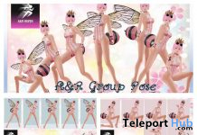 Several Group Poses May 2020 Gift by A&R Haven - Teleport Hub - teleporthub.com