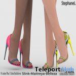 Brigida Heels May 2020 Group Gift by StephaneL - Teleport Hub - teleporthub.com