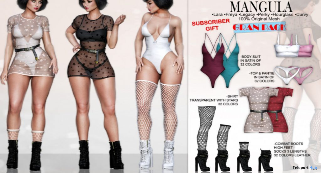 Summer Party Set May 2020 Subscriber Gift by Mangula - Teleport Hub - teleporthub.com