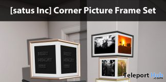 New Release: Corner Picture Frame Set by [satus Inc] - Teleport Hub - teleporthub.com