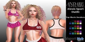 Alexis Sport Outfit May 2020 Group Gift by ANDARE - Teleport Hub - teleporthub.com
