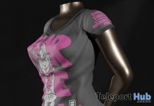 Fashion Punk Top June 2020 Group Gift by Cordewa Store - Teleport Hub - teleporthub.com