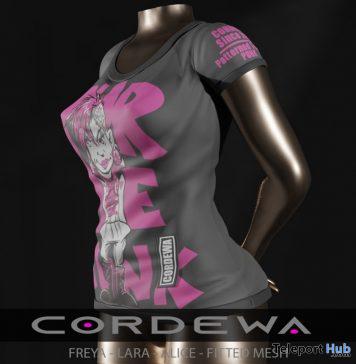 Fashion Punk Top June 2020 Group Gift by Cordewa Store - Teleport Hub - teleporthub.com