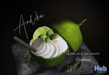 LimeZest Ice Cream Dispenser June 2020 Group Gift by Andika - Teleport Hub - teleporthub.com