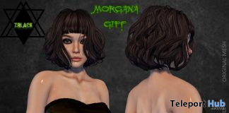 Morgana Dress June 2020 Group Gift by Z Black Store - Teleport Hub - teleporthub.com