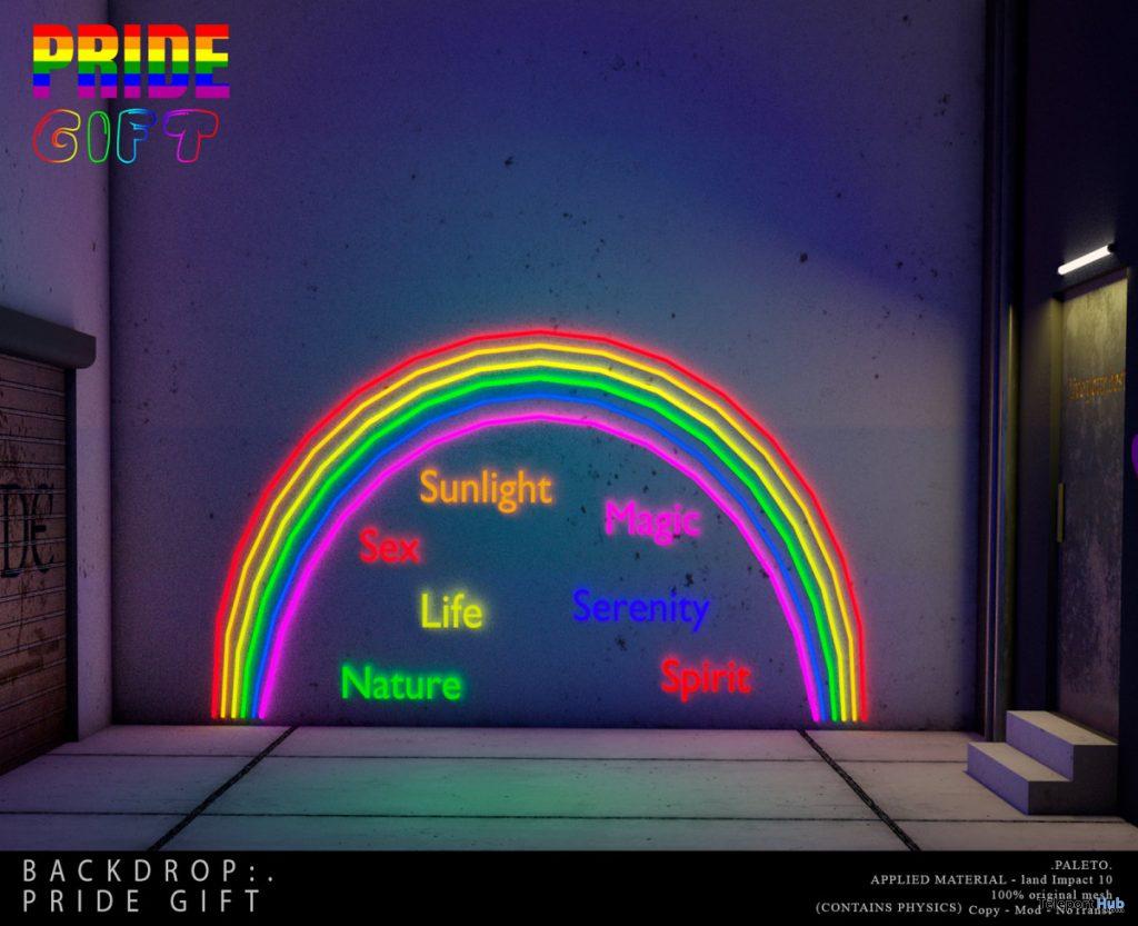 Pride Backdrop June 2020 Gift by PALETO - Teleport Hub - teleporthub.com