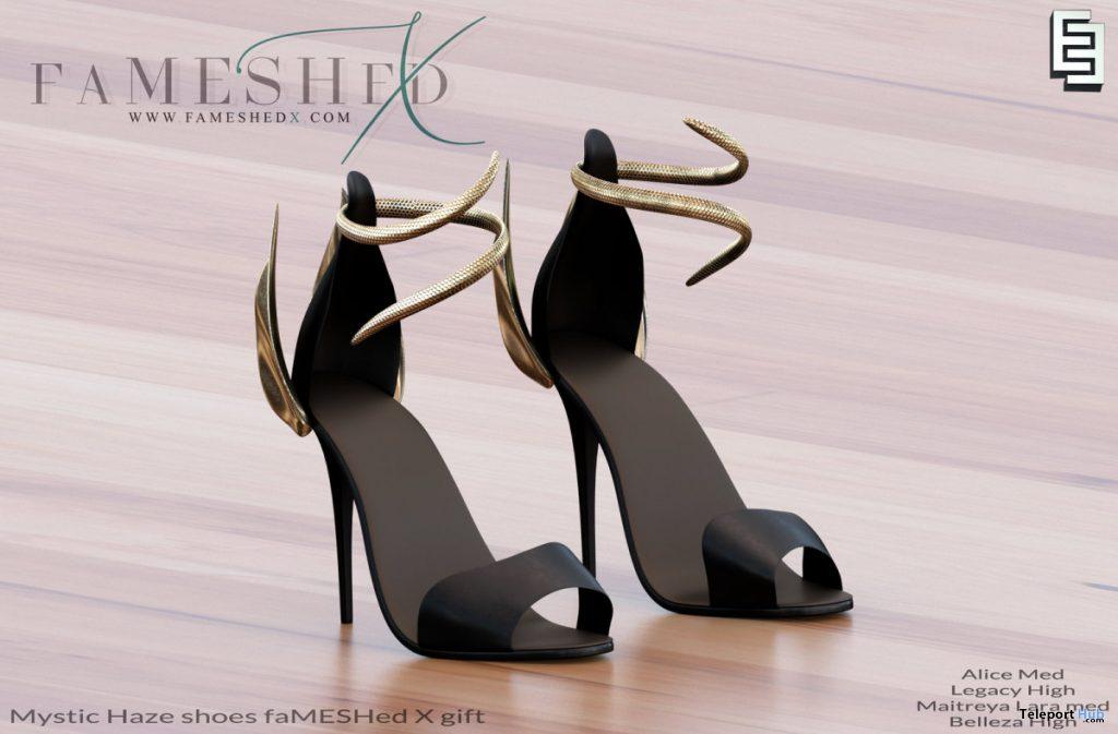 Mystic Haze Shoes FaMESHed X Event June 2020 Gift by ElvenElder - Teleport Hub - teleporthub.com
