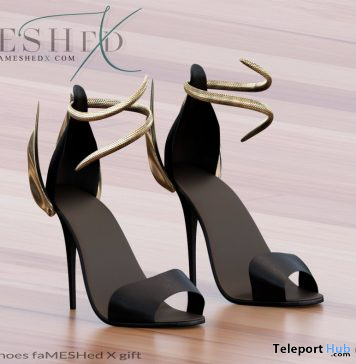 Mystic Haze Shoes FaMESHed X Event June 2020 Gift by ElvenElder - Teleport Hub - teleporthub.com
