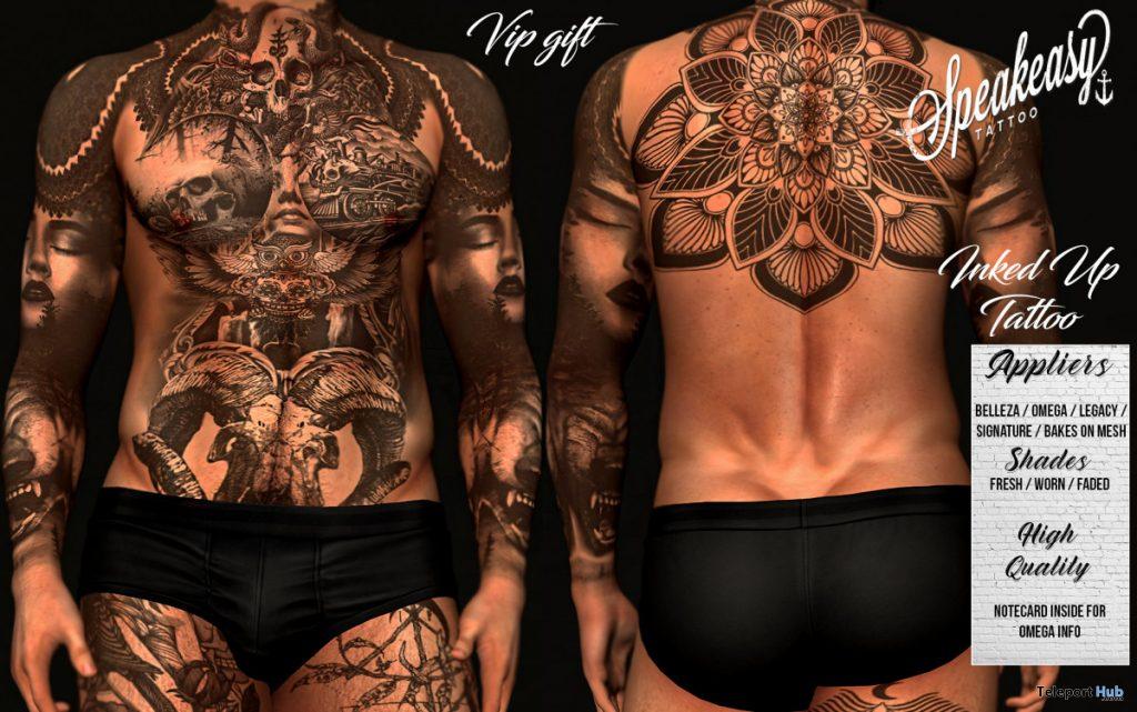 Inked Up Tattoo June 2020 Group Gift by Speakeasy - Teleport Hub - teleporthub.com