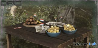 Dutch Snack Table June 2020 Group Gift by DRD - Teleport Hub - teleporthub.com