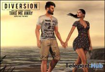 Take Me Away Couple Pose June 2020 Group Gift by Diversion - Teleport Hub - teleporthub.com
