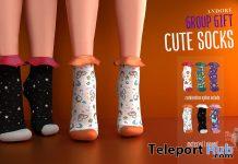 Cute Socks June 2020 Group Gift by ANDORE - Teleport Hub - teleporthub.com