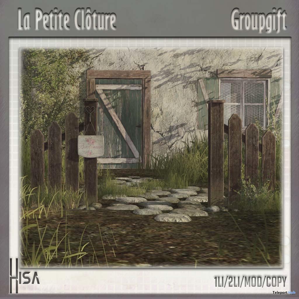 La Petite Cloture June 2020 Group Gift by HISA - Teleport Hub - teleporthub.com