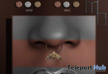 Insect Septum June 2020 Group Gift by Madame Noir - Teleport Hub - teleporthub.com