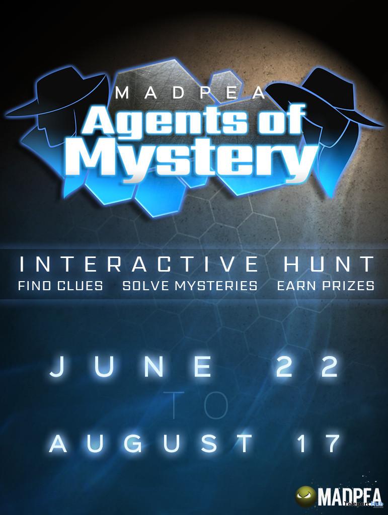 Madpea Agents of Mystery Hunt 2020 - Teleport Hub - teleporthub.com