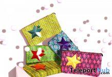 Fiora Clutch Bag June 2020 Group Gift by Polkadots & Moonbeams - Teleport Hub - teleporthub.com