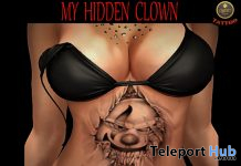 My Hidden Clown Belly Tattoo June 2020 Group Gift by QUERT - Teleport Hub - teleporthub.com