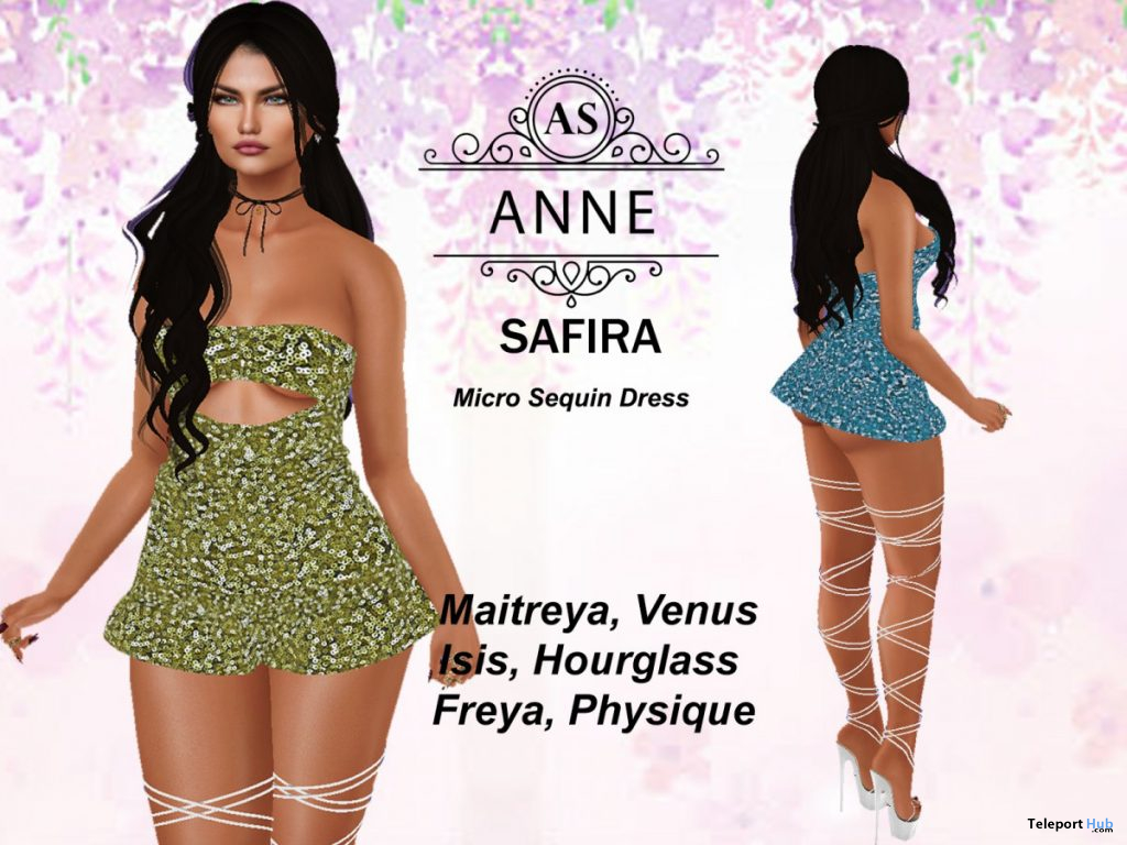 Micro Dress 10L Promo by AS Couture - Teleport Hub - teleporthub.com