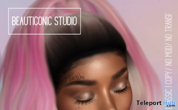 Love Wins Face Tattoo June 2020 Group Gift by Beauticonic Studio - Teleport Hub - teleporthub.com