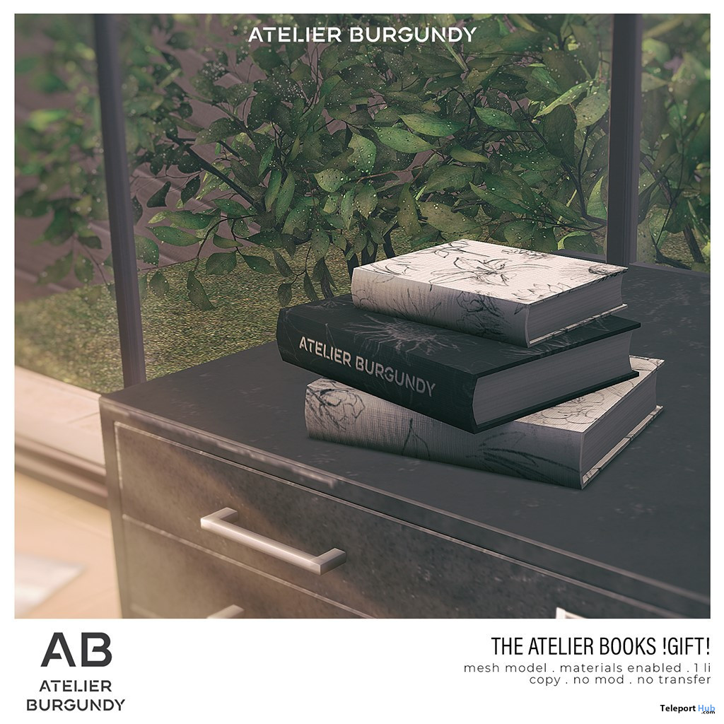 The Atelier Books June 2020 Gift by Atelier Burgundy - Teleport Hub - teleporthub.com