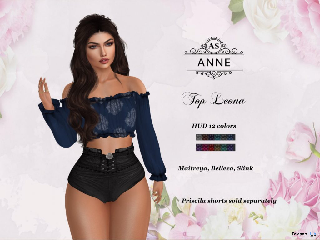 Leona Top June 2020 Gift by AS Couture - Teleport Hub - teleporthub.com