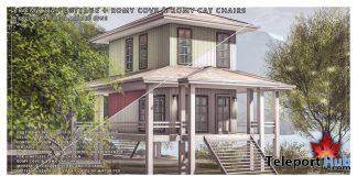Romy Cove, Romy Cay Chairs PG, & Romy Bay Cottage June 2020 Gift by Trompe Loeil - Teleport Hub - teleporthub.com
