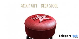 Beer Stool June 2020 Group Gift by D-LAB - Teleport Hub - teleporthub.com