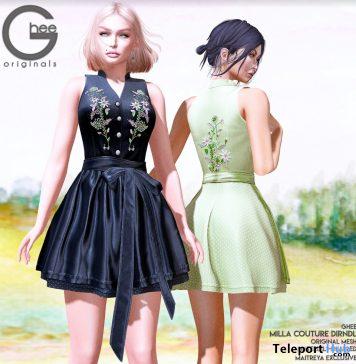 New Release: Milla Dirndl Dress by Ghee @ WIP Event June 2020 - Teleport Hub - teleporthub.com