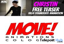 Christin 13 Dance Teaser Gift by MOVE! Animations Cologne - Teleport Hub - teleporthub.com