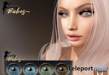 Realistic Eyes For BOM & Lelutka EVO 1L Promo Gift by LACEY BABES - Teleport Hub - teleporthub.com