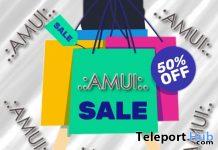 AMUI 50% Sale Promo 2020 - Teleport Hub - teleporthub.com