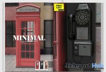Telephone Booth July 2020 Group Gift by MINIMAL - Teleport Hub - teleporthub.com
