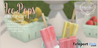 Ice Pops July 2020 Group Gift by {what next} - Teleport Hub - teleporthub.com