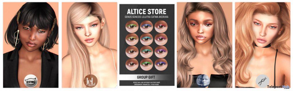 Summer Eyeshadow July 2020 Group Gift by ALICE - Teleport Hub - teleporthub.com