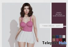 Tinna Dress Fatpack July 2020 Group Gift by [WellMade] - Teleport Hub - teleporthub.com