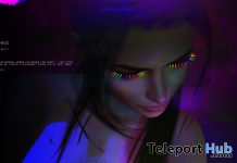 Neon Lashes July 2020 Group Gift by cinphul - Teleport Hub - teleporthub.com