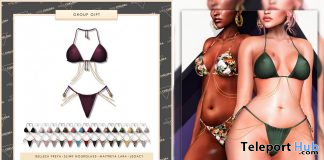 Rena Bikini Fatpack July 2020 Group Gift by Miss Chelsea - Teleport Hub - teleporthub.com