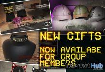 Headphone, Bracelet, Choker, & Baseball Cap July 2020 Group Gift by GUTCHI - Teleport Hub - teleporthub.com