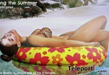 Enjoying The Summer Single Female Pose July 2020 Subscriber Gift by PosEd Poses - Teleport Hub - teleporthub.com