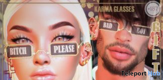 Karma Glasses July 2020 Gift by Boutique #187# - Teleport Hub - teleporthub.com