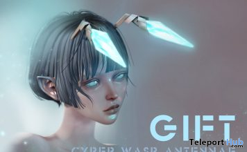 Cyber Wasp Antennae Mainframe Event July 2020 Gift by HARO - Teleport Hub - teleporthub.com