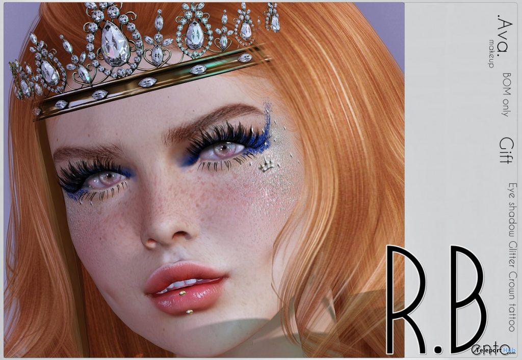 Ava Makeup BOM July 2020 Gift by R.Bento - Teleport Hub - teleporthub.com