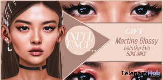 Martine Glossy Eyeshadow July 2020 Group Gift by INFLUENCE - Teleport Hub - teleporthub.com