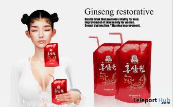 Ginseng Restorative July 2020 Gift by Project K - Teleport Hub - teleporthub.com