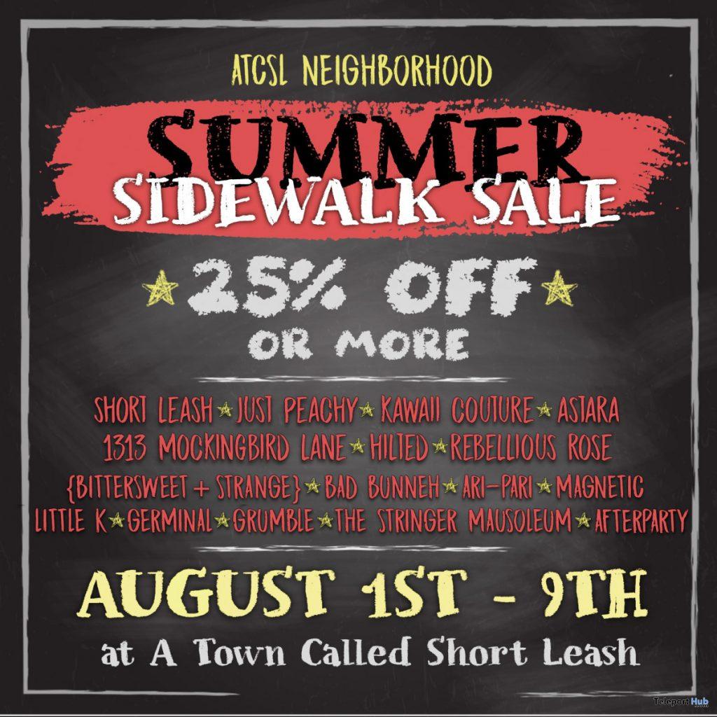 ATCSL Neighborhood Summer Sidewalk Sale 2020 - Teleport Hub - teleporthub.com